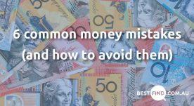 6 common money mistakes