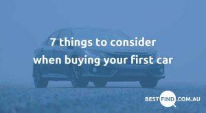 Things to consider when buying a new car
